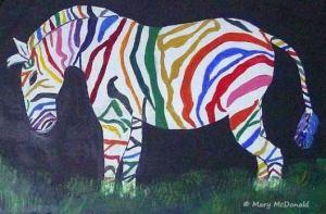 Rainbow Zebra Click Image for Source