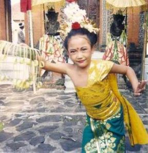Young Temple Dancer