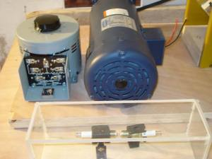 Motor Regulator, Motor and Spark Gap Box