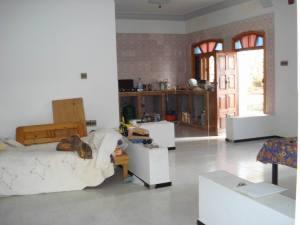 Third Level Salon and Kitchen