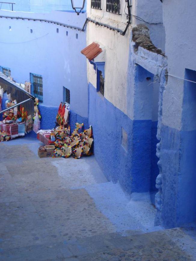Berber Street Stall to Make the Exercise Interesting