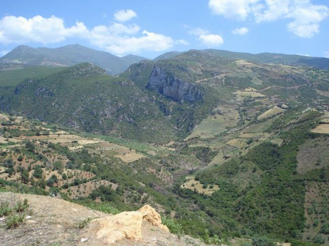 Overview of Oued Laou Valley