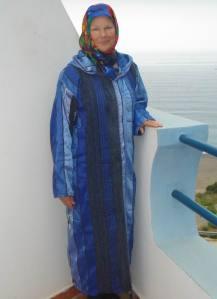 "Alia's ""Berber evening Gown"""