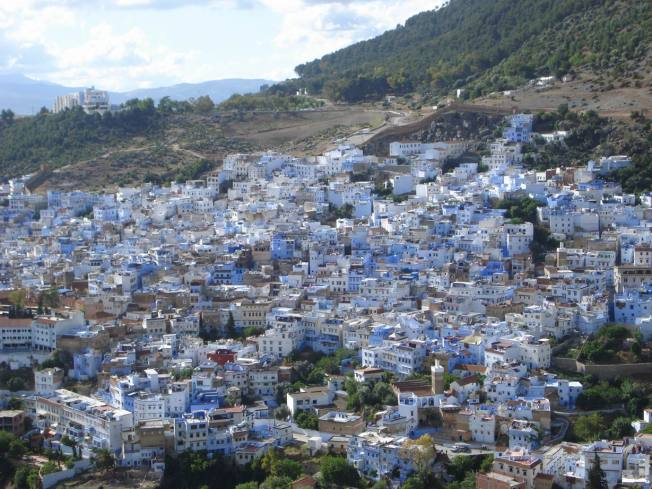 Chefchaouen Medina from the Mosque