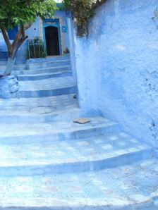 Entrance to a Guest House, Dar Onsar, a Happy Discovery
