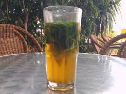 Glass of Mint Tea