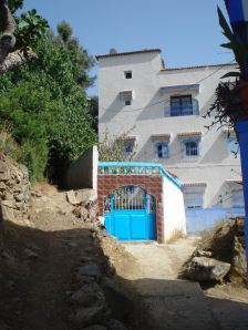 Entrance to Our New Home in Chefchaouen