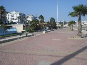 Downtown Tangier -- Along the Harbor