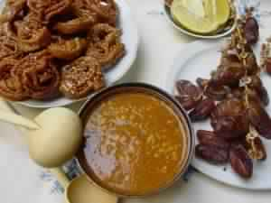 Foods for Ftor: Chebakia, Eggs, Harira, Dates, Lemons and More
