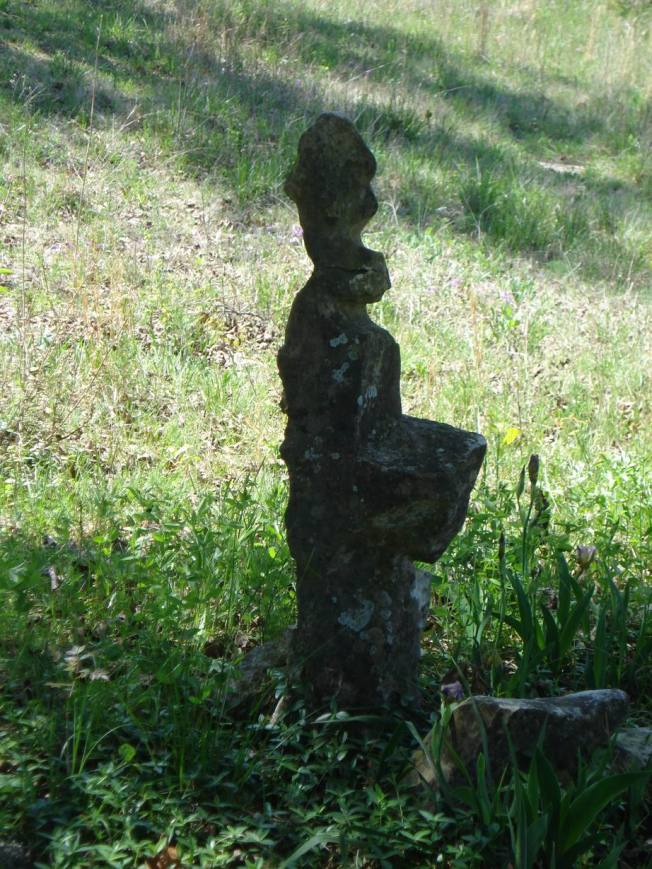 Natural Rock Statuary at Site 5 of the Open-Air Meditation Sanctuary